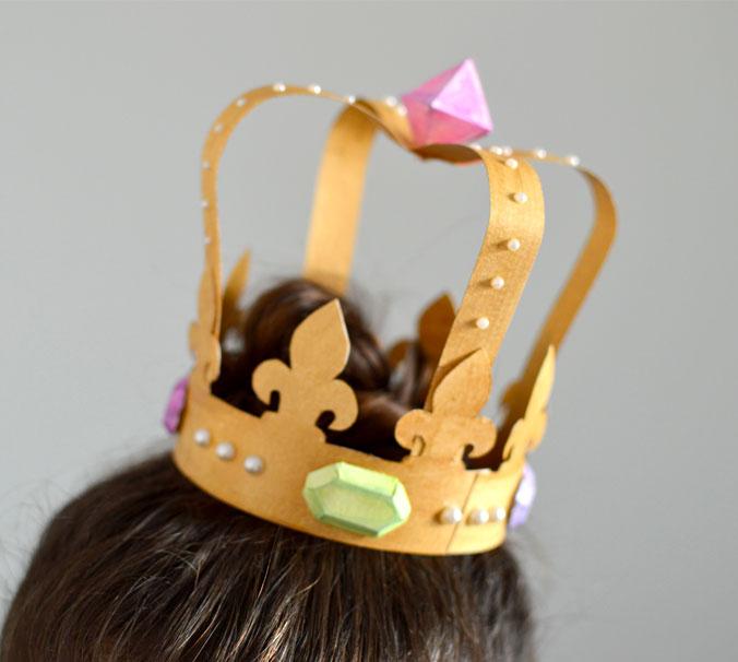 couronne diy