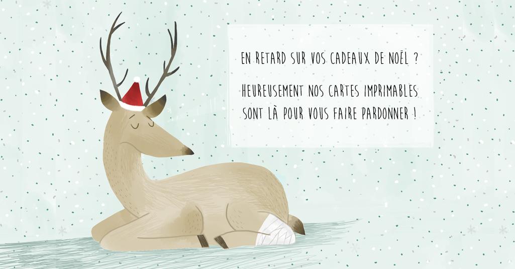 La carte de Noël ( pour les retardataires!)