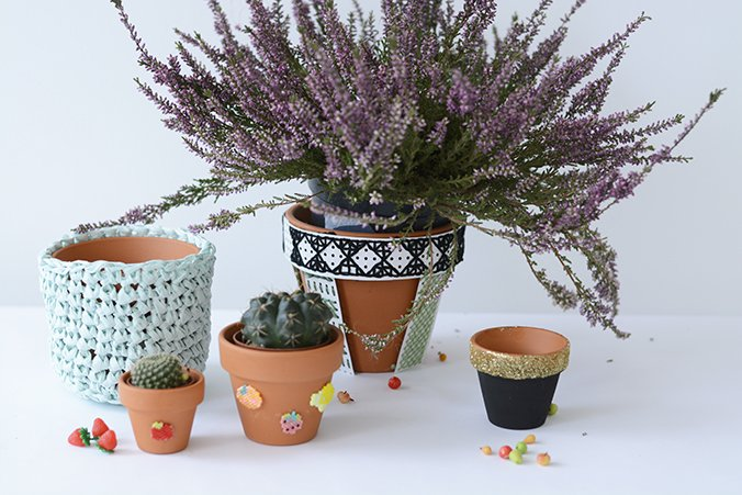 pots customises