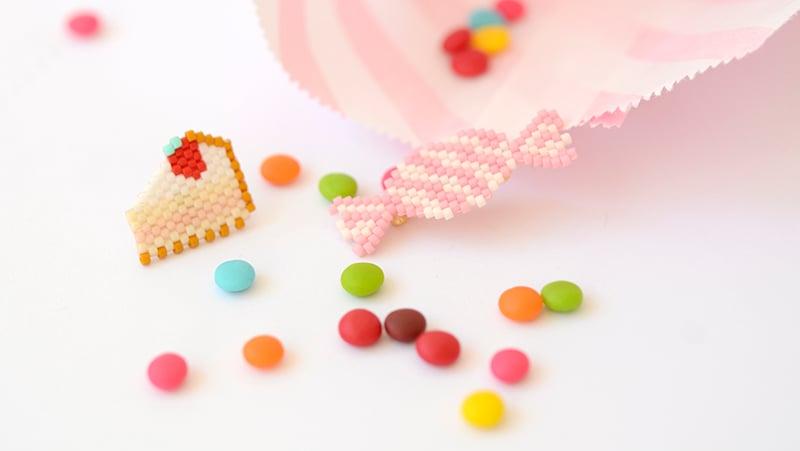 bonbons en perles miyuki