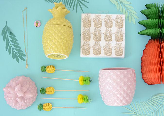 Produits-ananas