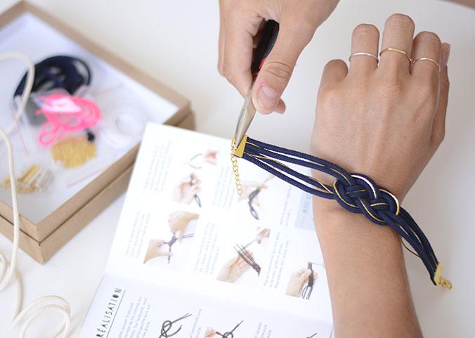 Bracelet marin mes kits make it La Petite Epicerie