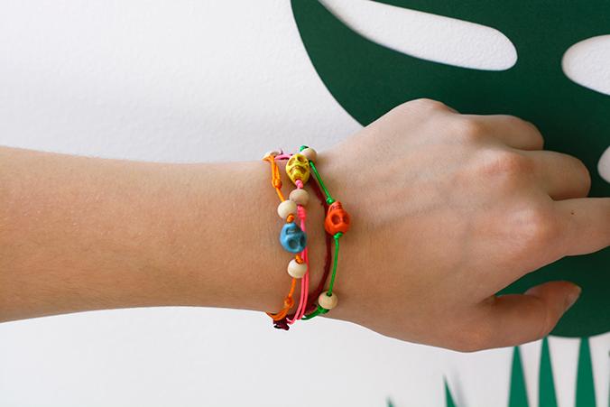 Mexico bracelet porté