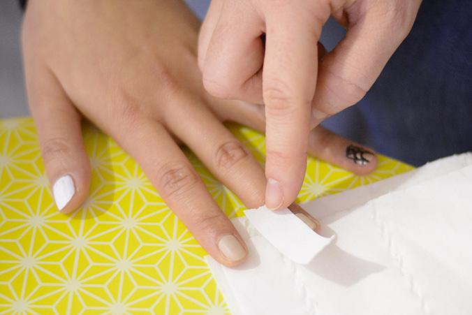 masking tape nail art