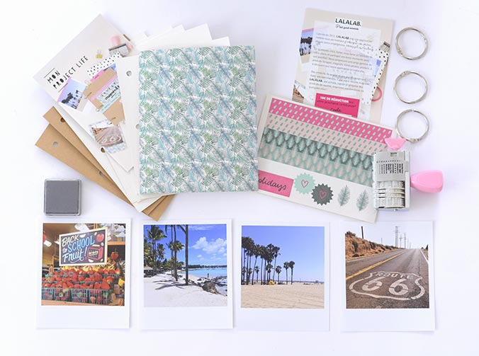 materiel box mes kits make it project life