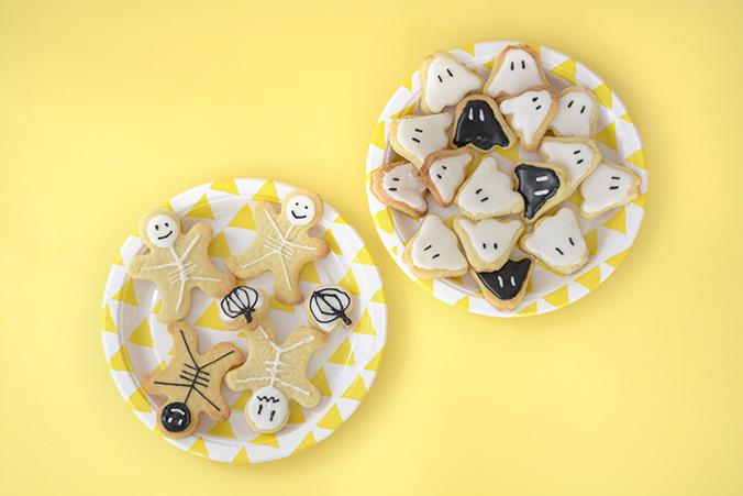 biscuits sablés d'halloween