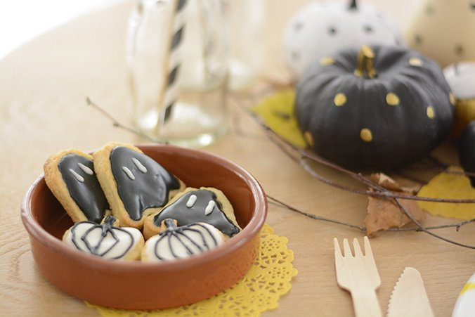 table d'halloween gourmande