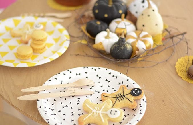 Biscuits sablés halloween