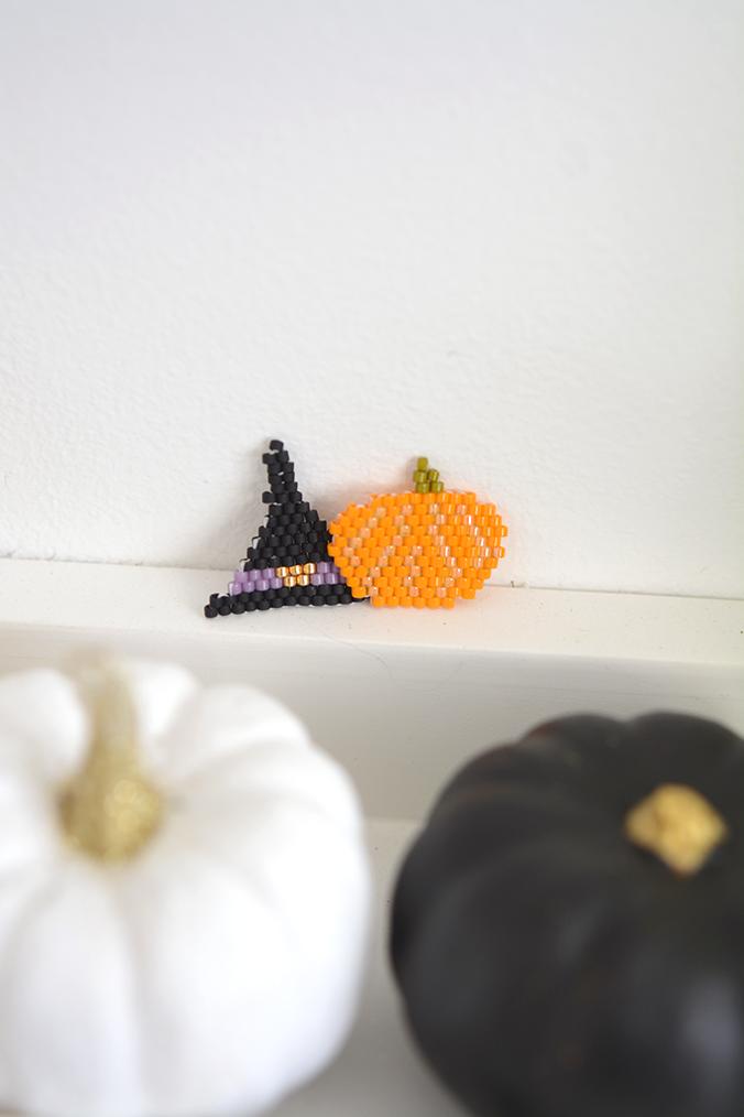 perles miyuki halloween