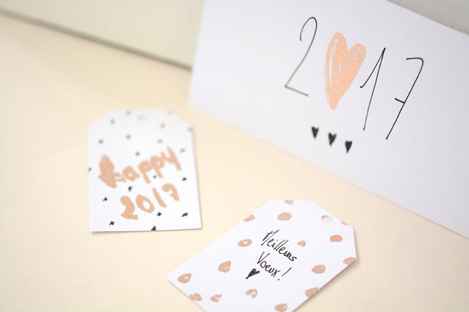Cartes de voeux handmade