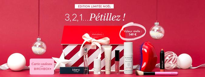 box beauté cadeau concours