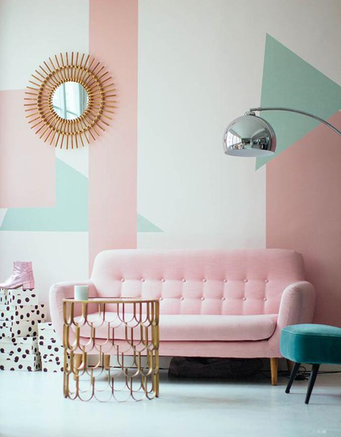 décoration d 'intérieur pastel