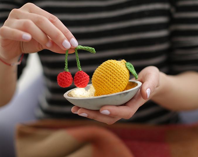 Cerises-et-citron amigurumi