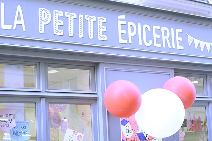 Devanture-boutique la petite epicerie Paris