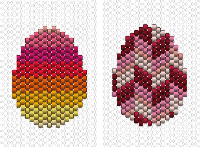 Oeufs-multicolores