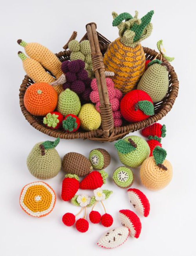 fruits et legumes au crochet