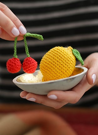 amigurumi fruits