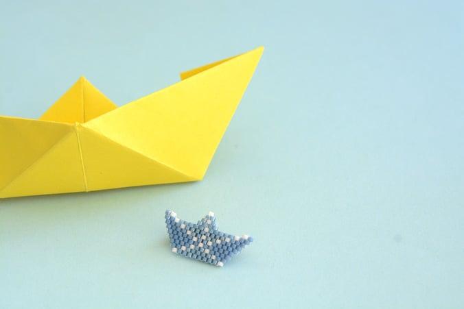 bateau origami miyuki