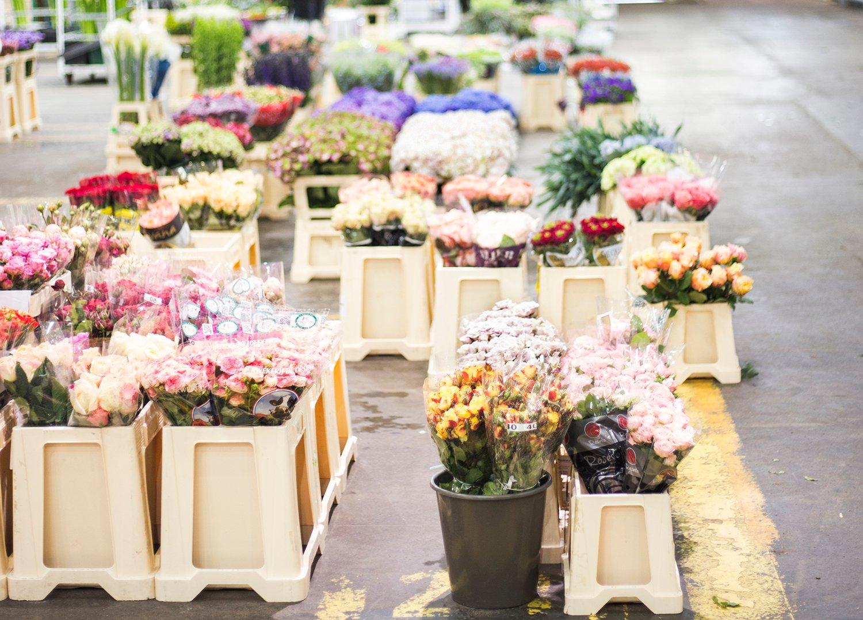 Marché aux fleurs de Rungis
