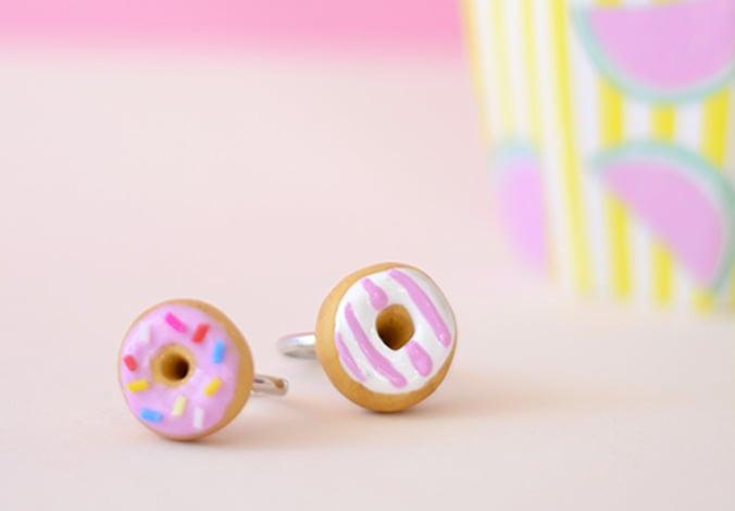 donuts en pâte fimo