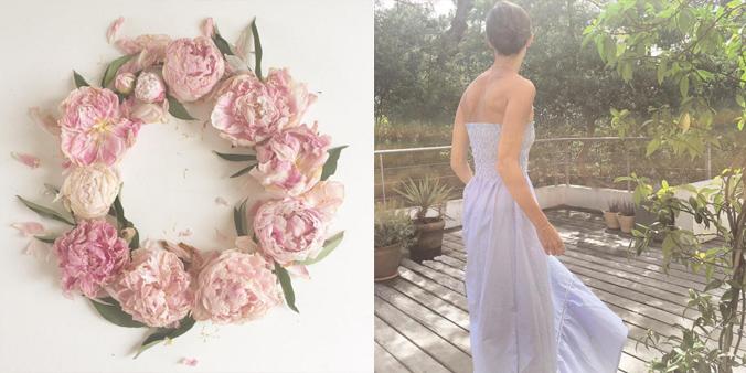 robe à coudre par Eugénie