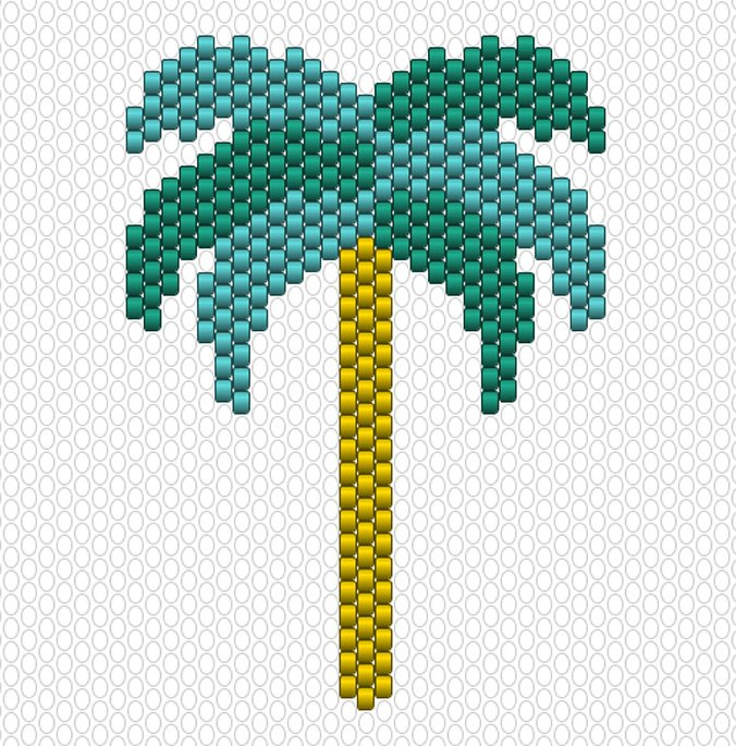 palmier diagramme miyuki