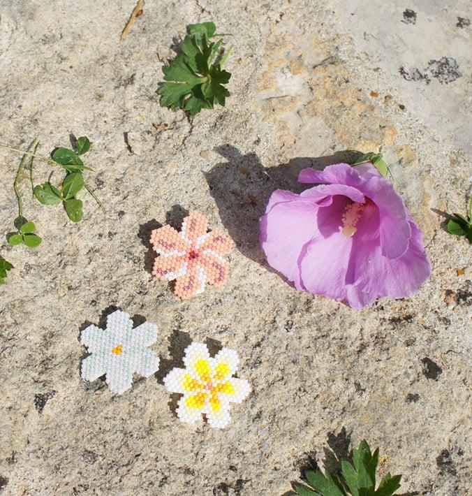 fleur de tiaré jaune