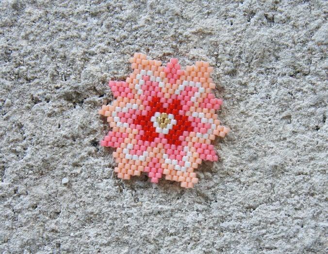 fleur orient diagramme