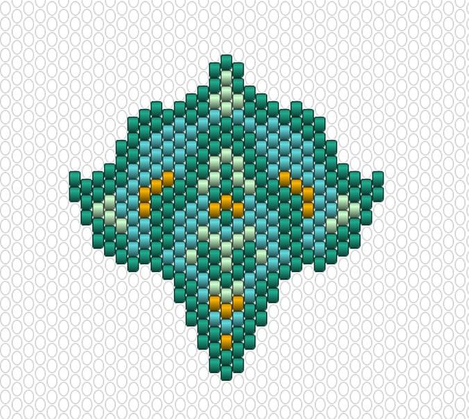 motif marocain diagramme