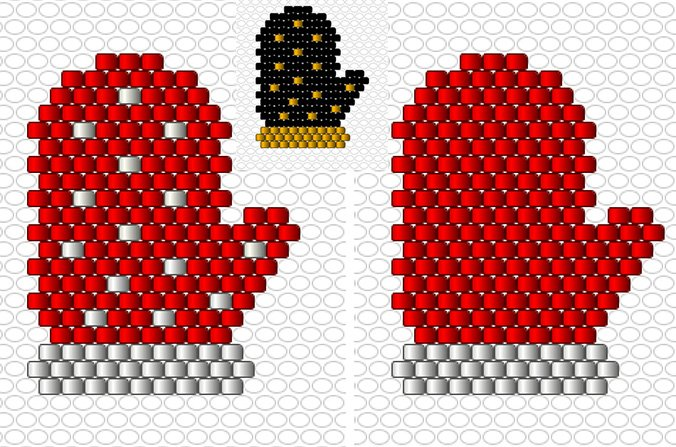 22.Gant-pois-rouge