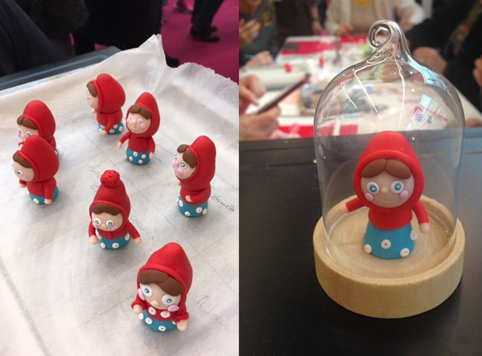 Chaperon-rouge fimo