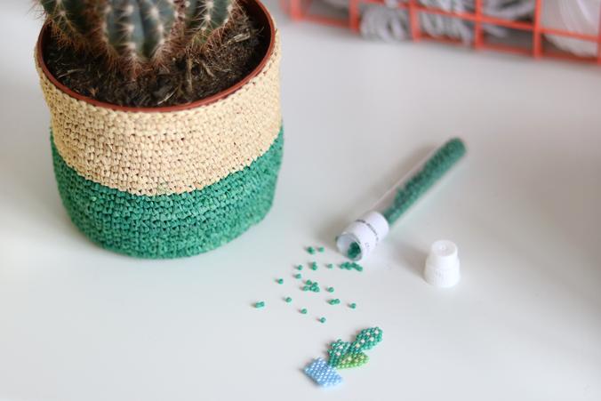 tissage-brickstitch-miyuki-cactus