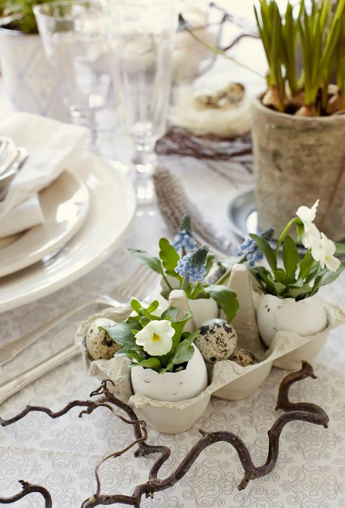 idées DIY pâques végétal plantes