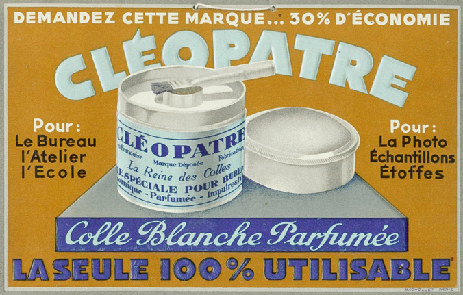cleopatre-vintage-affiche-marque