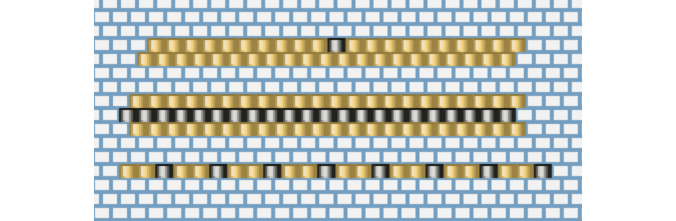 diagrammes-bagues-perles-miyuki-chic-or